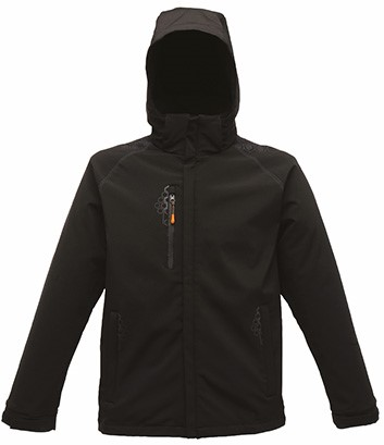 SALE! Regatta TRA660 Repeller Softshell - Zwart - Maat M