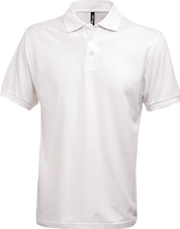 SALE! Acode 100222 Herenpoloshirt Zware kwaliteit - Wit - Maat XL