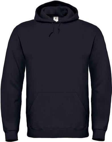 SALE! B&C BC0156 Hooded Sweater - Zwart - Maat 4XL