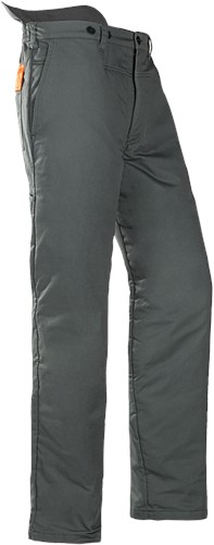 SALE! SIP Zaagbroek 1XTP-506 - Groen/Hi-Vis Oranje - Maat XL