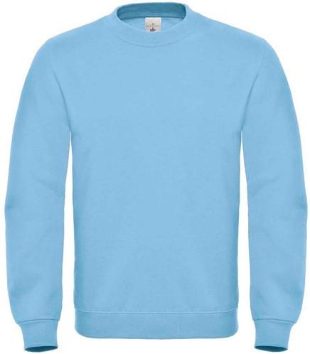 OUTLET! B&C ID.002 Sweater - Licht Blauw - Maat 4XL