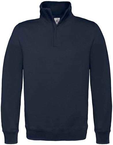 SALE! B&C 1015627 Zip sweater - Navy - Maat L