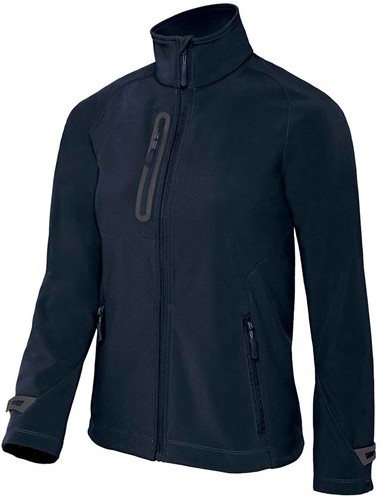 OUTLET! B&C X-Lite softshell Jas Dames - Navy - Maat M