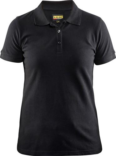 SALE! Blaklader 3307 Dames Poloshirt Piqué - Zwart - Maat M