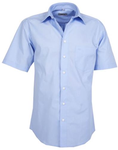 SALE! Arrivee 4344 Pilot Shirt KM - Licht blauw - Maat 43/44