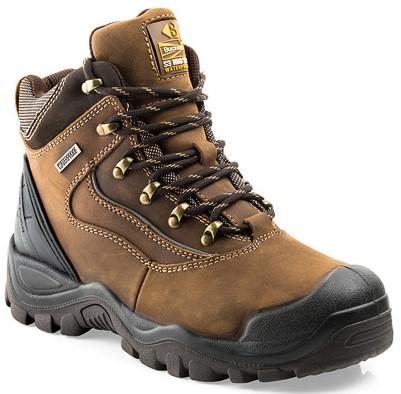 SALE! Buckler Boots Hoge Schoen BSH002BR S3 + KN - Bruin - Maat 44