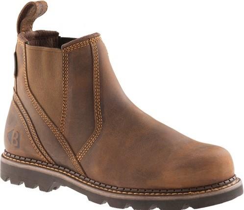 SALE! Buckler Boots B1500 Onbeveiligde Lage Laars - Bruin - 40