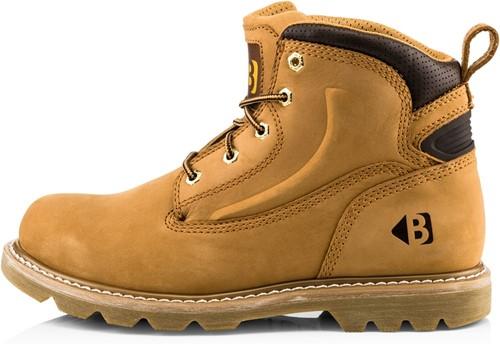 SALE! Buckler boots B2800 Onbeveiligde Hoge Werkschoen - Honey Nubuck - Maat 47