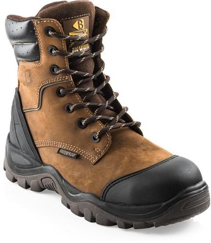 SALE! Buckler Boots Hoge Schoen BSH008WPNM S3 + KN Bruin - Maat 41