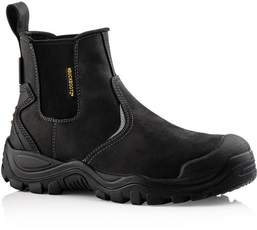SALE! Buckler Boots Instapper BSH006BK S3 + KN - Zwart - Maat 46