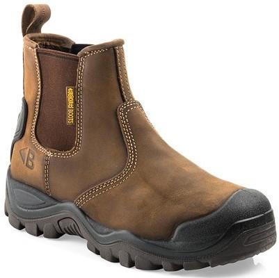 SALE! Buckler Boots Instapper BSH006BR S3 + KN - Bruin - Maat 45