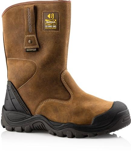 SALE! Buckler Boots Veiligheidslaars BSH010BR S3 + KN - Donkerbruin - Maat 43