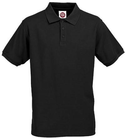 SALE! C.G. Workwear CGW720 Polo Iseo Man - Black - Maat M