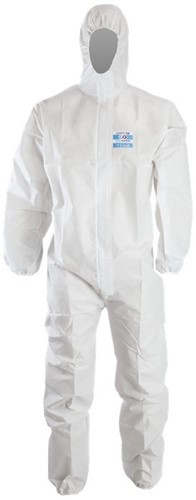 OUTLET! Chemdefend 110 Disposable Overall - Wit - Maat 2XL