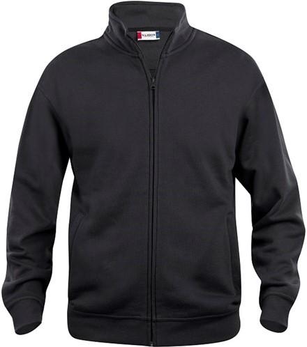 OUTLET! Clique Basic Cardigan Heren - Zwart - Maat XXL