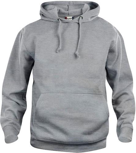 SALE! Clique 021031 Basic hoody - Grijs - Maat S