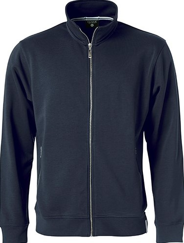 SALE! Clique 021058 Classic French Terry jacket -  Dark navy - Maat 3XL