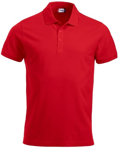SALE! Clique 028244 Classic Lincoln Heren polo - Rood - Maat M