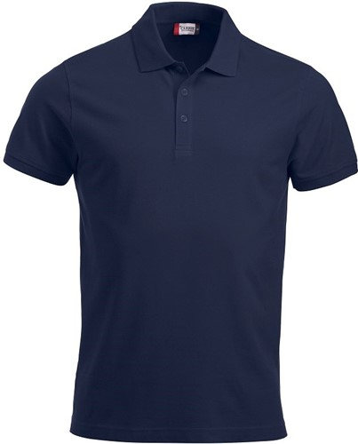 SALE! Clique 028244 Classic Lincoln Heren polo - Navy - Maat L