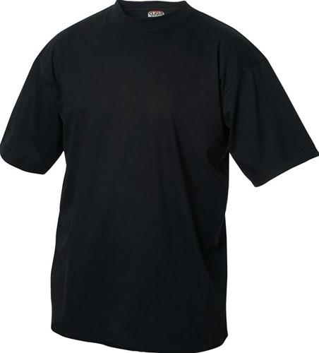 SALE! Clique 029360 Classic-T t-shirt - Zwart - Maat L