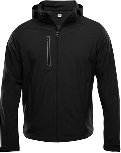 SALE! Clique 020927 Milford softshell jacket heren - Zwart- Maat M
