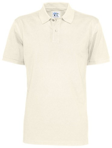 SALE! CottoVer 141006 Pique Heren Polo - Off white - Maat S