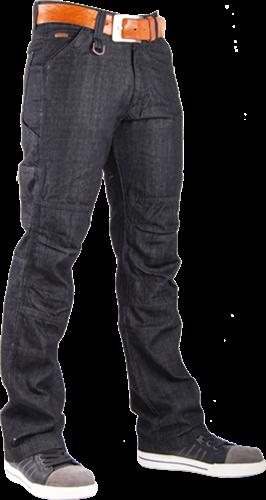 SALE! Crosshatch Toolbox-B Spijkerbroek Stretch - Zwart - W38L32