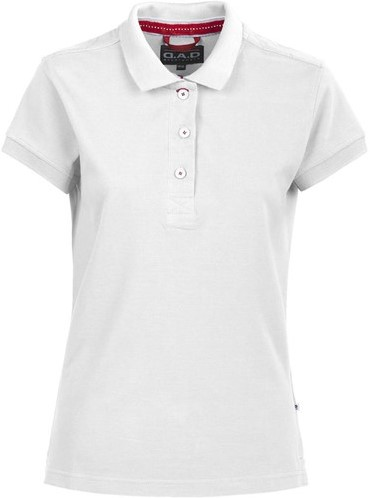 SALE! DAD 134031 Lynton Polo Dames - Wit - Maat M