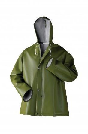 OUTLET! Dolfing 40401 Regenjack - Groen - Maat L