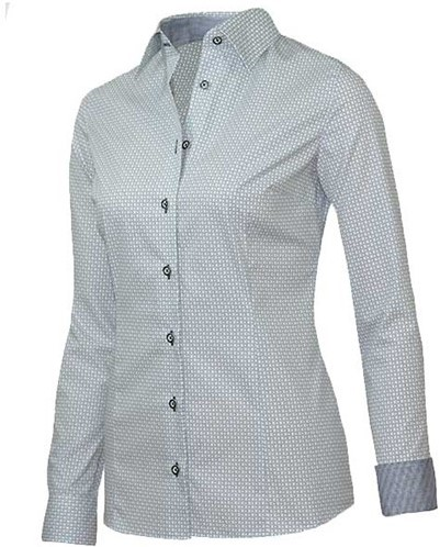 OUTLET! Giovanni Capraro 29338-12 Blouse - Grijs - Maat 36
