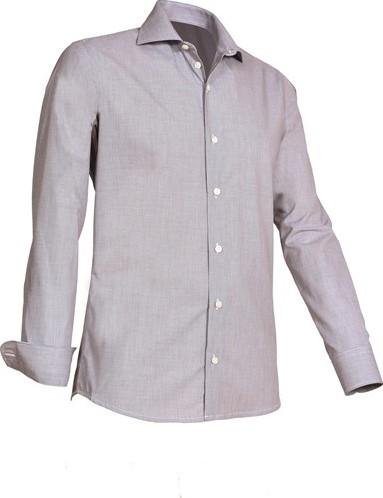 SALE! Giovanni Capraro 921-20 Heren Overhemd - Grijs - Maat XL
