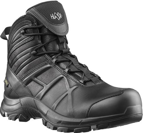 SALE! Haix Black Eagle Safety 50 Half Hoog S3 - Zwart - Maat 43