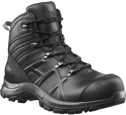 SALE! Haix Black Eagle Safety 56 Half Hoog Veiligheidsschoen S3 - Zwart - Maat 41