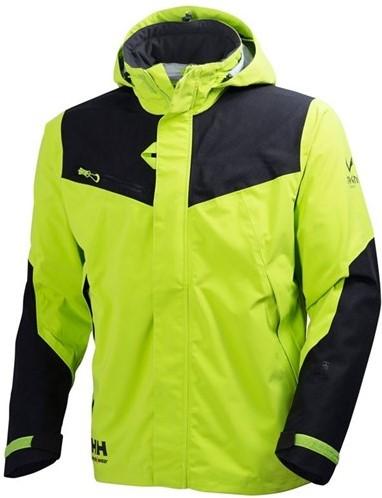 SALE! Helly Hansen 71161 Magni Shell Jacket- Maat 3XL-Donkerlimoen