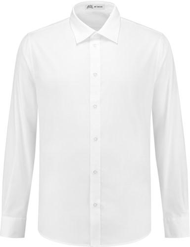 SALE! Heren overhemd Brandon LM - Wit - Maat 3XL