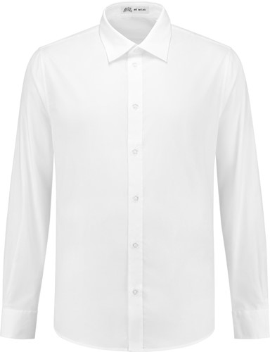 SALE! Me Wear 5010 Heren overhemd Brandon LM - Wit - Maat 3XL