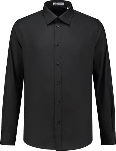 SALE! Me Wear 5010 Heren overhemd Brandon LM - Zwart - Maat 3XL