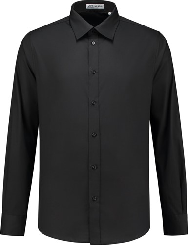 SALE! Me Wear 5010 Heren overhemd Brandon LM - Zwart - Maat XL