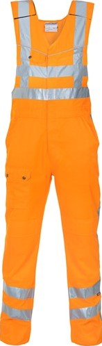 SALE! Hydrowear 048460 Albergen RWS Bodybroek - Oranje - Maat 48