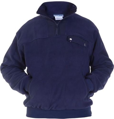 OUTLET! Hydrowear Toronto Fleecesweater Navy - Maat XL