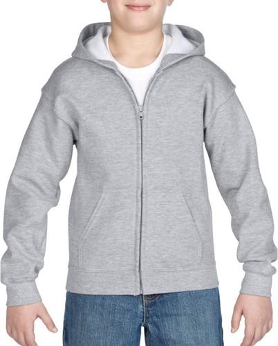 Gildan GIL18600B Sweater Hood Full Zip HeavyBlend for Kids