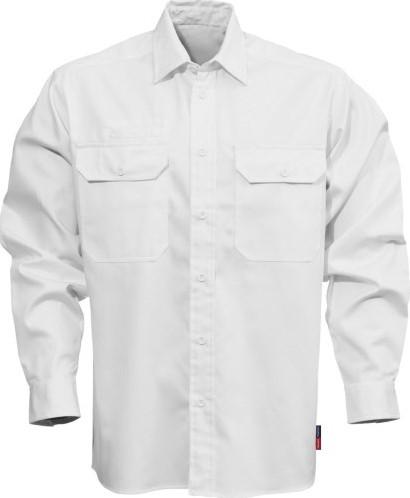 SALE! Fristads 100732 Katoenen overhemd 7386 BKS - Wit - Maat L