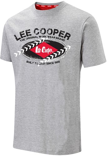 Lee Cooper LCTS014 T-shirt - Grijs