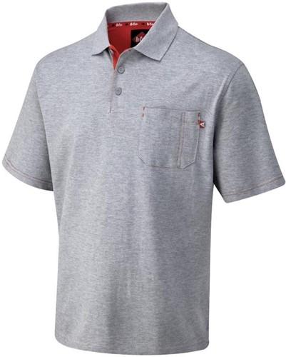 Lee Cooper LCTS011 Pique Polo Shirt - Grijs