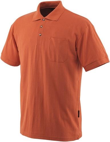 SALE! Mascot 00783 Borneo Poloshirt - Oranje - Maat 2XL