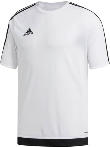SALE! Adidas 16146 voetbalshirt voor vrouwen - Wit/Zwart - Maat XL