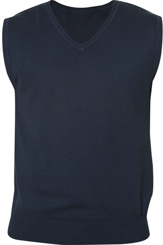 OUTLET! Clique Adrian heren V-neck pullover - Dark Navy  - L