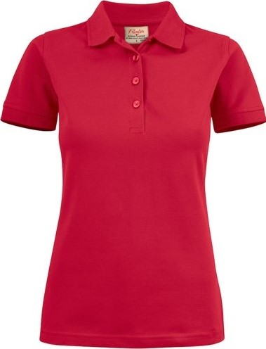 SALE! Printer 2265021 Surf Stretch Dames Polo - Rood - Maat M