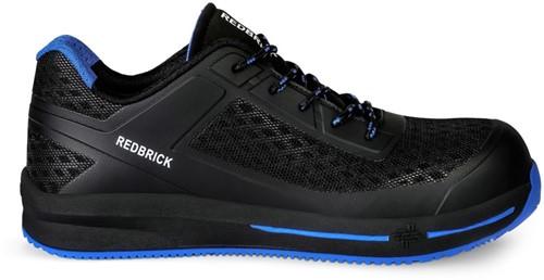 OUTLET! Redbrick Motion Star Lage Veiligheidssneaker S1P ESD Zwart/Blauw - Maat 40