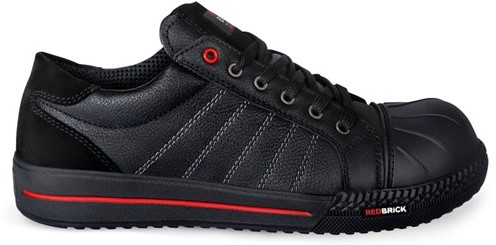 SALE! Redbrick Ruby Toe cap S3 - Zwart - Maat 42